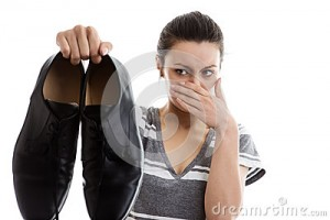 out-door-them-woman-holding-pair-man-smelly-work-shoes-air-not-looking-to-happy-40713424